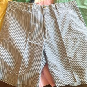 Blue & white striped Ralph Lauren shorts